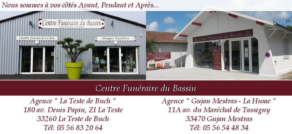 centre funeraire du bassin. Black Bedroom Furniture Sets. Home Design Ideas